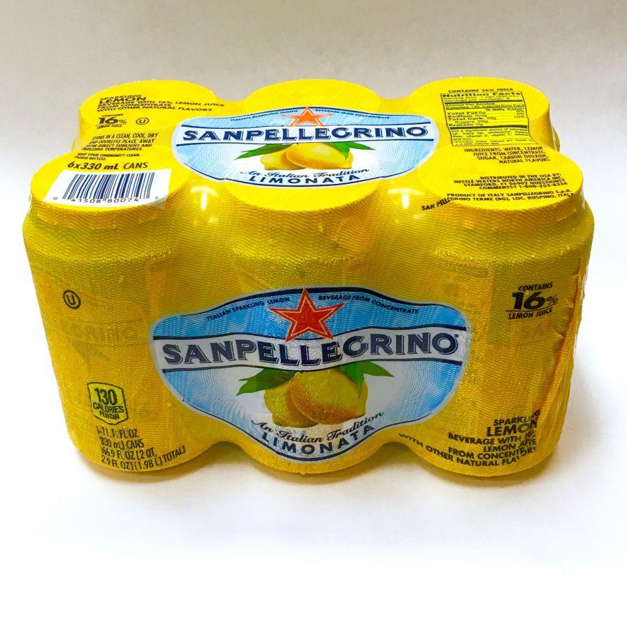 Sanpelligrino Lemonada Case