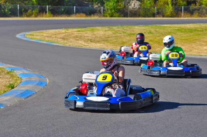 PGP Karts on track