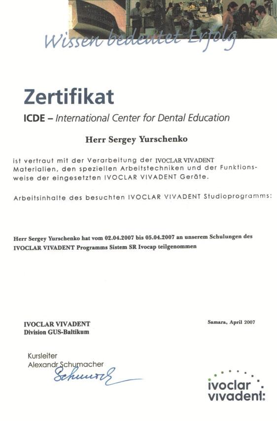 Kurz Ivoclar Vivadent IPS Empress Esthetic a IPS e.max, Wiktor Daub