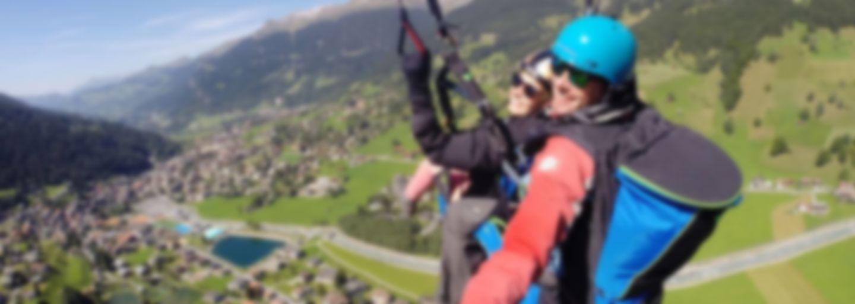 Paragliding Tandem Flight Klosters