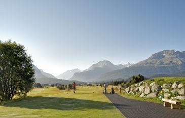 Cresta Palace - Golf Hit Engadin