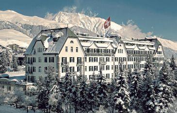 4 pour 3 Spécial hiver au Cresta Palace Hotel