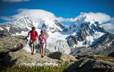 hiking experience in the Upper Engadine