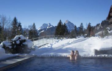 Winterlicher Höhenflug im ERMITAGE Wellness- & Spa-Hotel
