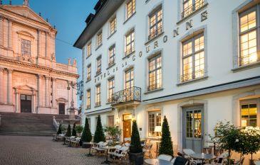 Romantik in Solothurn im Hotel La Couronne
