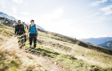 Hiking in the Grisons