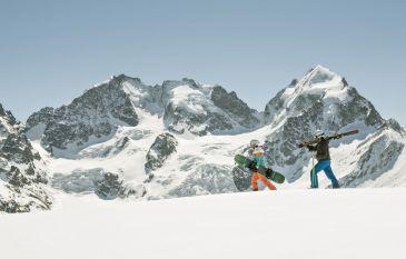 Enjoy the Engadine slopes at the Hotel Cresta Palace