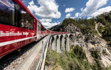 Train Tour through Switzerland