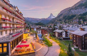 Die Magie der Zermatter Bergwelt - Parkhotel Beau Site