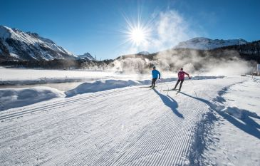 Always on the right track: Engadin - the land of unlimited cross-country skiing opportunities!