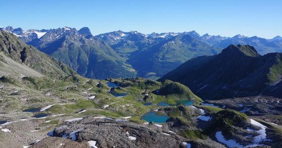 Geführte Wanderung: Macun-Seen