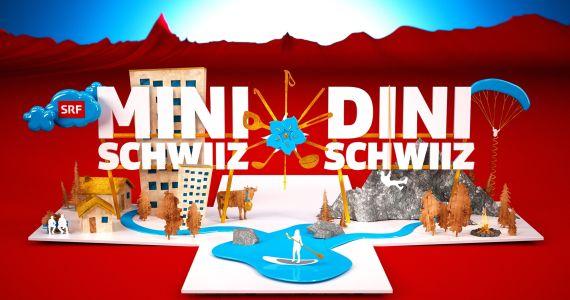 Mini Schwiz - Dini Schwiz auf Grossleinwand