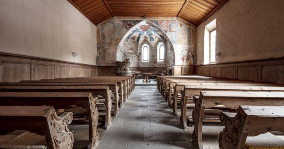 Die Kirchenmalereien von Lavin
