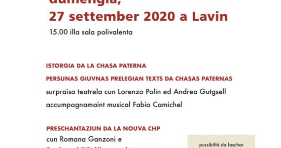 Occurrenza da giubileum – 100 ons ediziun Chasa Paterna