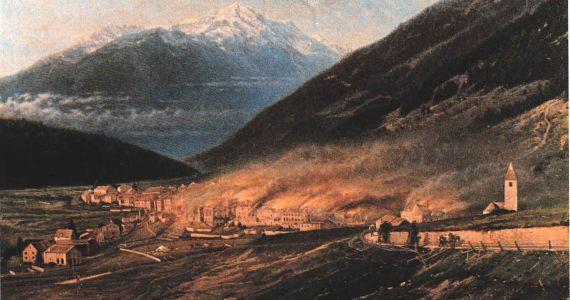 Veranstaltungsreihe: Fö da Lavin - 150 Jahre Dorfbrand Lavin