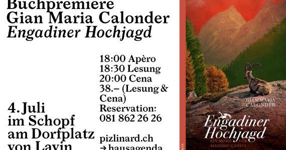 "Buchpremiere: ""Engadiner Hochjagd"""