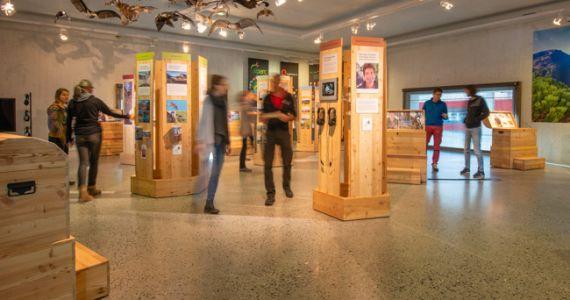 Ausstellung der Bündner Pärke