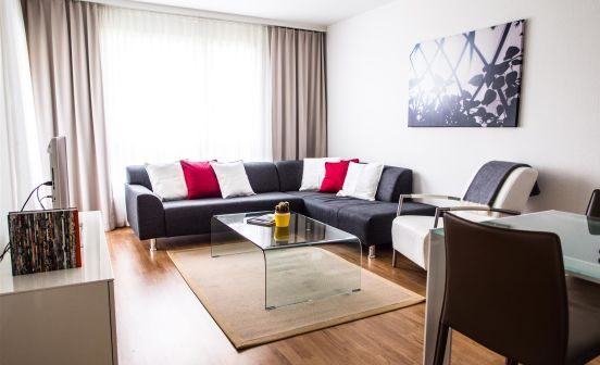 1-bedroom apartment, 51 sqm