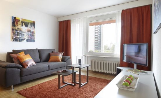 1-bedroom apartment with garden view, 60 sqm