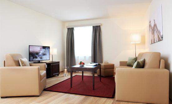1-bedroom penthouse apartment suite, 54 m² (terrace)