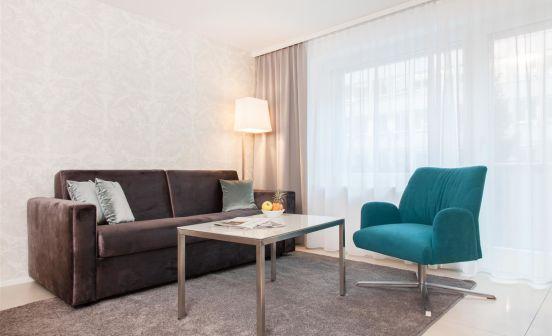 2.5-Zimmer Apartment, Parterre, 55 m²