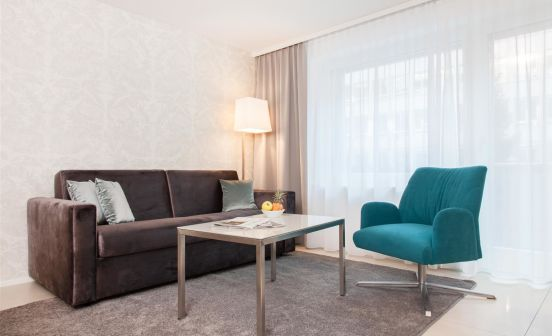 1-bedroom apartment, ground floor, 55 m²