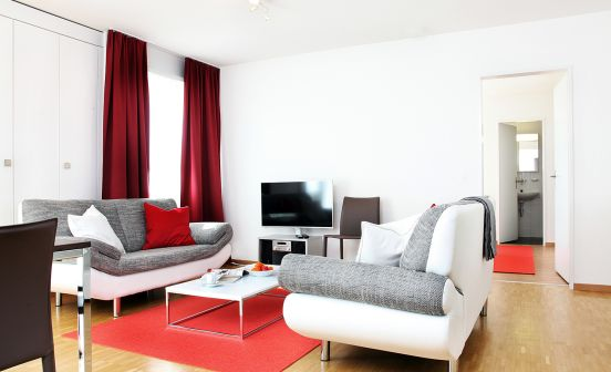 1-bedroom apartment, ground floor, 60 sqm