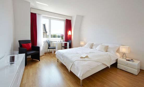 Penthouse studio apartment, 27 m²