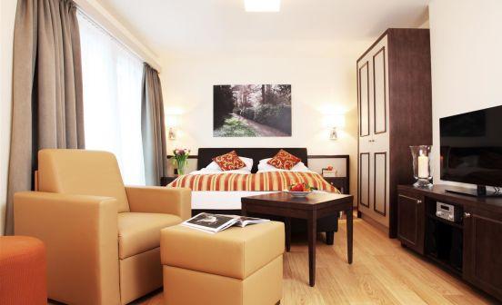 Studio apartment, 34 m²