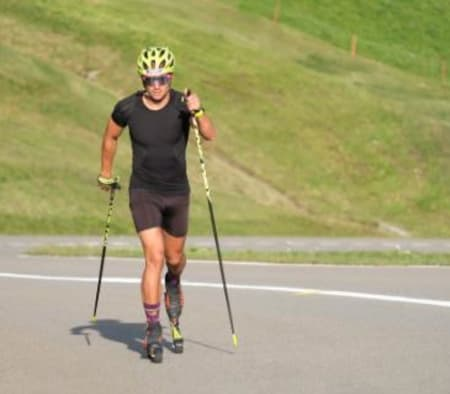 After the Nordic Roadshow in @davosklosters the next summer highlight is waiting. On 28th of August will be the FIS Rollerski race from Davos up to Flüelapass. 12 kilometers and 800 meters altitude. Who is ready for the challenge?More information on www.challenge-davos.ch -> @challengedavos Foto: @erwan_kaser #davosnordic #summeredition #davosklosters #sportsunlimited #BKW