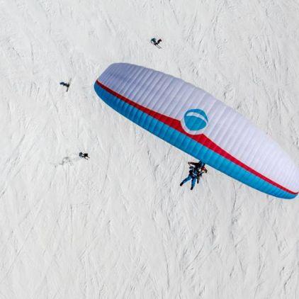 Klosters Paragliding Tandem Flight