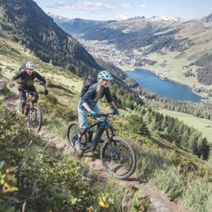 Bike & Sleep – Die Bike-Hotels von Davos Klosters