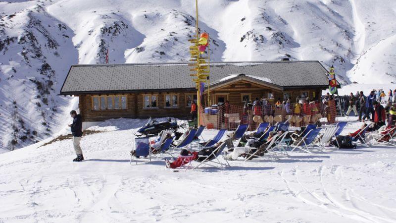 Skihütte Gruobenalp