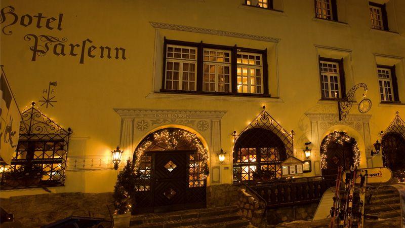 Hotel Parsenn Aussenansicht
