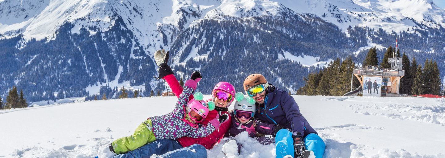 Family day at Klosters Madrisa