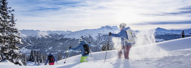 Snow shoe adventure Davos