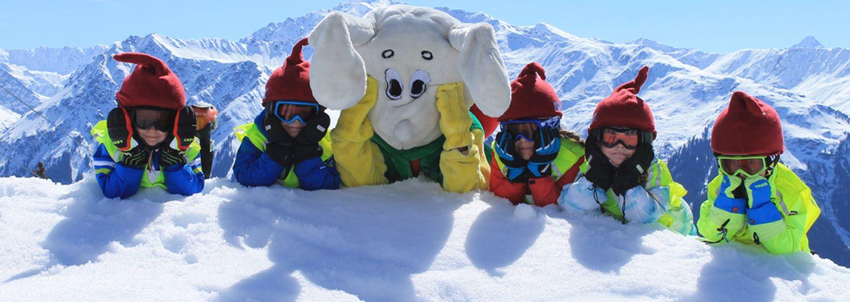 Ski-Schnupperkurs für Kinder Klosters