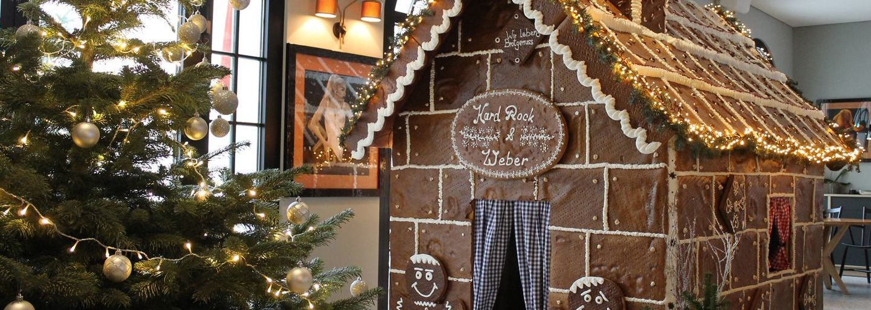 Lebkuchenhaus im Hard Rock Hotel Davos