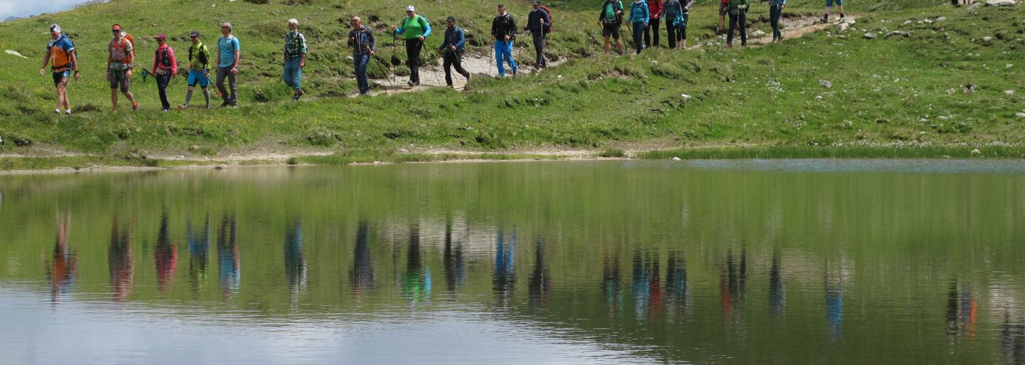 24h hiking event Davos