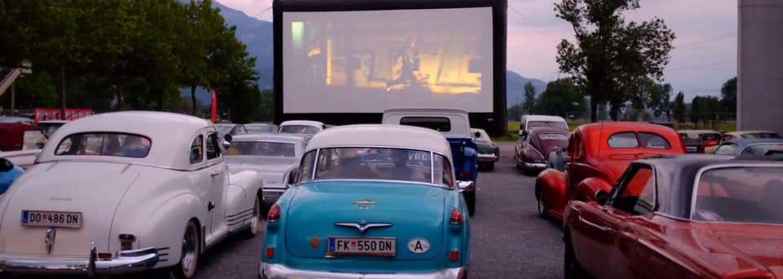 Car cinema Davos