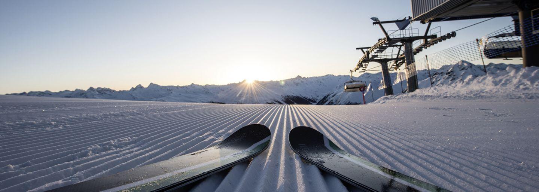 Early Bird Skifahren Parsenn Davos