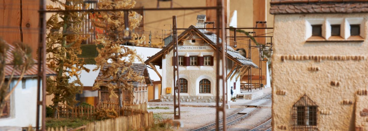 Visit of the Albula Railway Museum