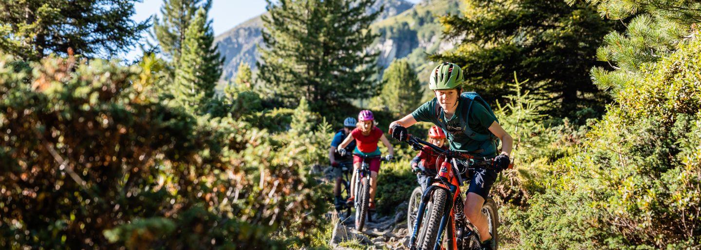 Mountainbike-Fahrtechnik - Kids only!