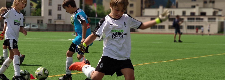 Fohlen Fussball-Camp 2021 mit Borussia-Jugendtrainer