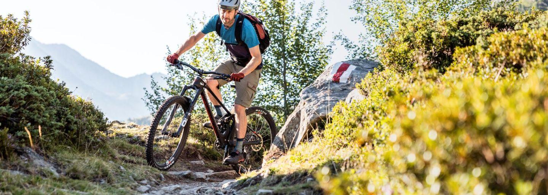 Mountainbike-Fahrtechnik