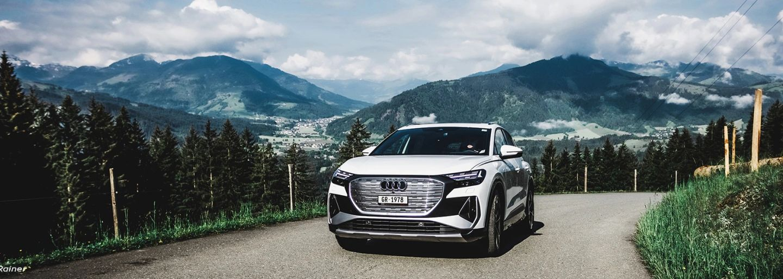 Audi driving experience: The Audi Q4 e-tron culinary drive