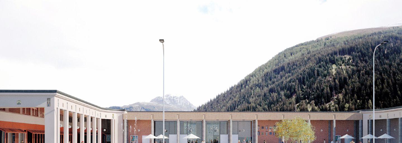 Einweihungsfest Arkadenplatz Davos