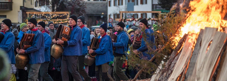 Sächsi Schällätä at Klosters