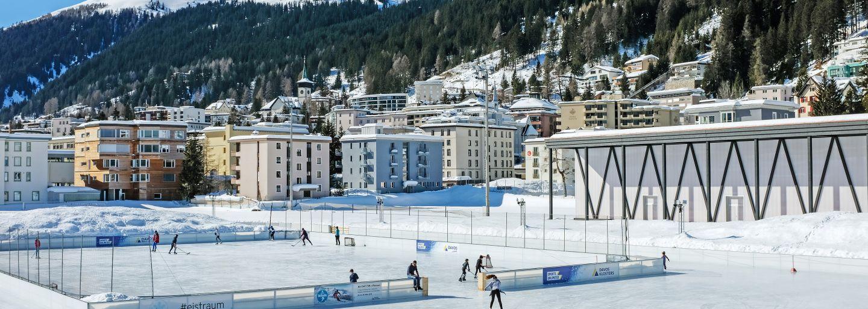 Märzfest auf dem Eistraum Davos