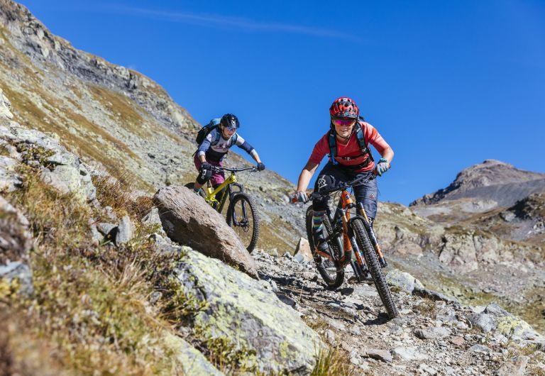 Blau, rot oder schwarz: das Trail-Ticket hilft